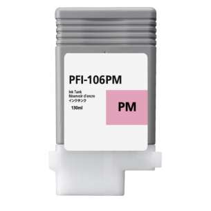 Compatible ink cartridge to replace Canon PFI-106PM - photo magenta