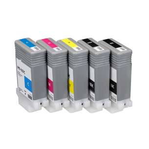 Compatible inkjet cartridges Multipack for Canon PFI-107 - 5 pack