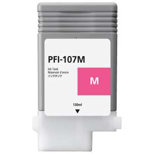 Compatible ink cartridge to replace Canon PFI-107M - magenta