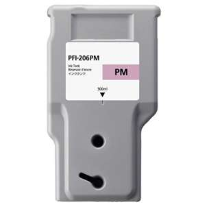 Compatible ink cartridge to replace Canon PFI-206PM - photo magenta