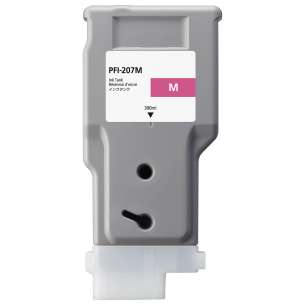 Compatible ink cartridge to replace Canon PFI-207M - magenta