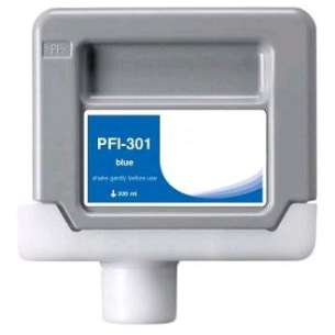 Compatible ink cartridge to replace Canon PFI-301B - blue