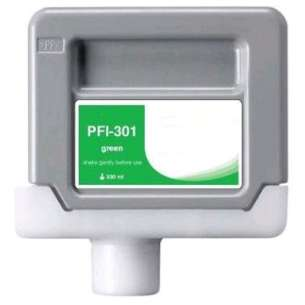 Compatible ink cartridge to replace Canon PFI-301G - green