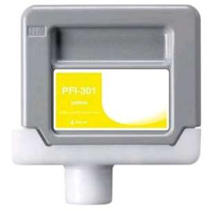 Compatible ink cartridge to replace Canon PFI-301Y - yellow