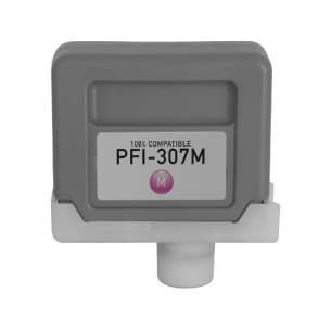 Compatible inkjet cartridge for Canon PFI-307M - magenta