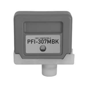 Compatible inkjet cartridge for Canon PFI-307MBK - matte black