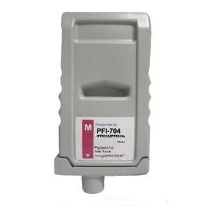 Compatible ink cartridge to replace Canon PFI-704M - magenta