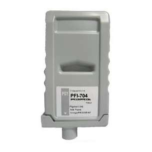 Compatible ink cartridge to replace Canon PFI-704PGY - photo grey