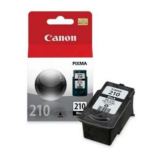 Genuine Brand Canon PG-210 inkjet cartridge - pigmented black