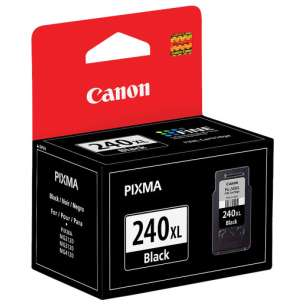 Genuine Brand Canon PG-240XL inkjet cartridge - high capacity pigmented black