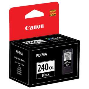 Genuine Brand Canon PG-240XXL inkjet cartridge - extra high capacity pigmented black