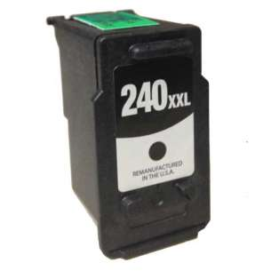 Remanufactured Canon PG-240XXL inkjet cartridge - extra high capacity black