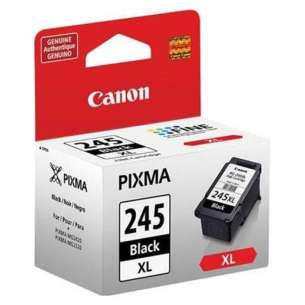 Genuine Brand Canon PG-245XL inkjet cartridge - high capacity black
