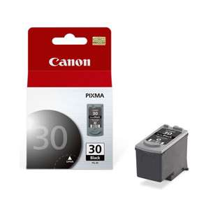 Genuine Brand Canon PG-30 inkjet cartridge - pigmented black