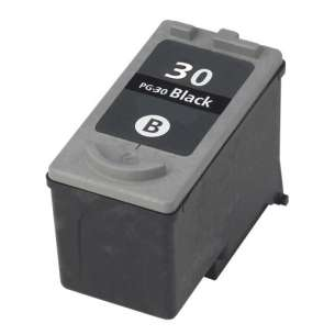 Remanufactured Canon PG-30 inkjet cartridge - black cartridge