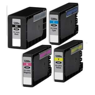 Compatible inkjet cartridges Multipack for Canon PGI-1200 XL - 4 pack