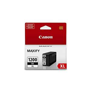 Genuine Brand Canon PGI-1200BK XL inkjet cartridge - black cartridge
