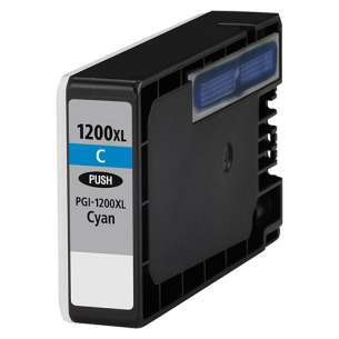 Compatible ink cartridge to replace Canon PGI-1200C XL - high capacity cyan