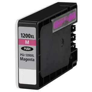 Compatible ink cartridge to replace Canon PGI-1200M XL - high capacity magenta