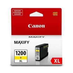 Genuine Brand Canon PGI-1200Y XL inkjet cartridge - yellow