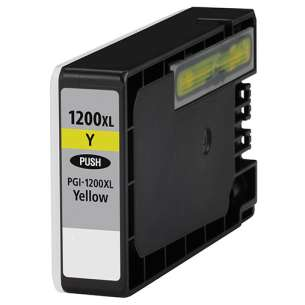 Compatible ink cartridge to replace Canon PGI-1200Y XL - high capacity yellow
