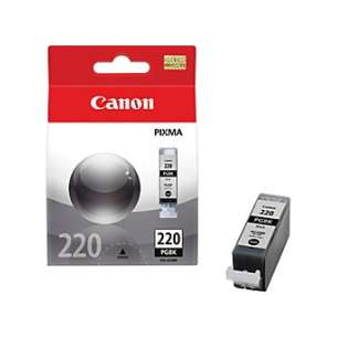 Genuine Brand Canon PGI-220 inkjet cartridge - pigmented black