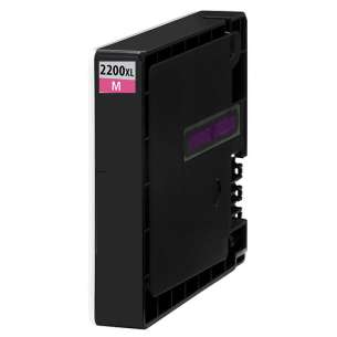 Compatible ink cartridge to replace Canon PGI-2200M XL - high capacity magenta