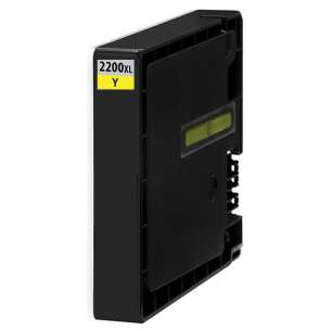 Compatible ink cartridge to replace Canon PGI-2200Y XL - high capacity yellow