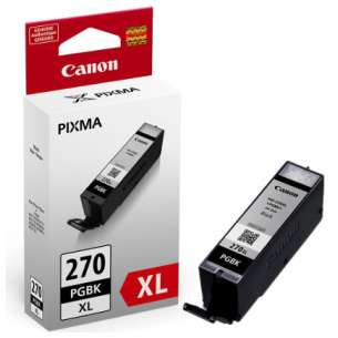 Genuine Brand Canon PGI-270 XL inkjet cartridge - pigmented black