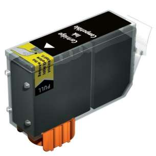 Compatible ink cartridge to replace Canon PGI-7 - black cartridge