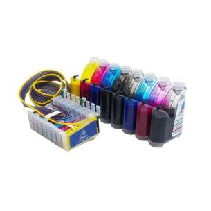 Epson Stylus Photo R2000 continuous ink supply system PLUS INK
