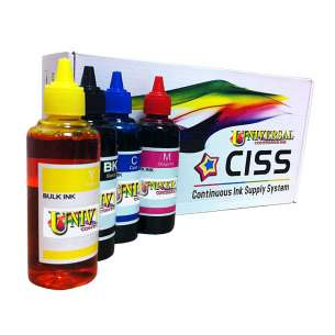 Epson T252 continuous ink supply system PIGMENT REFILL PACK (for Epson WF-3620 / WF-3640 / WF-7110 / WF-7610 / WF-7620)