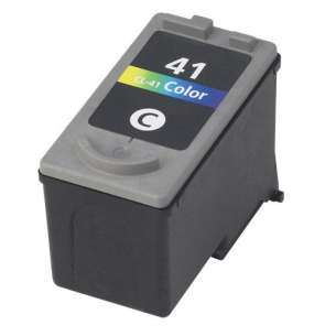 Remanufactured Canon CL-41 inkjet cartridge - color cartridge