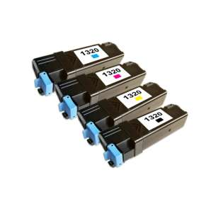 Compatible for Dell 310-9058 / 310-9060 / 310-9062 / 310-9064 toner cartridges - high capacity - 4-pack