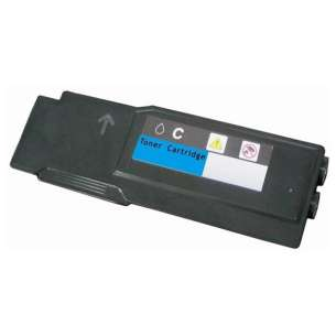 Compatible for Dell 331-8432 (1M4KP) toner cartridge - extra high capacity cyan