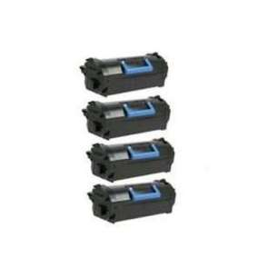 Remanufactured Dell 331-9797 (T6J1J) toner cartridges - black - 4-pack