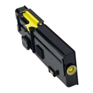 Compatible for Dell 593-BBBR (YR3W3) toner cartridge - high capacity yellow