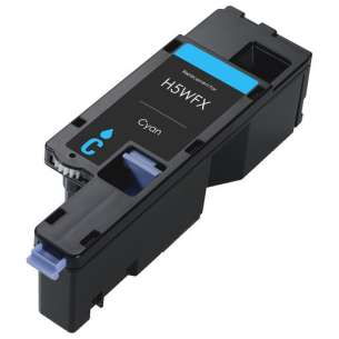 Compatible for Dell 593-BBJU (H5WFX) toner cartridge - cyan