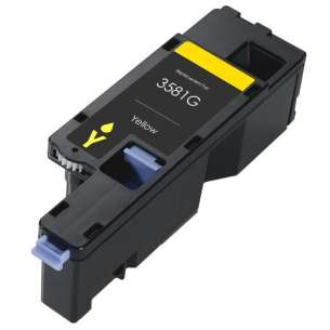 Compatible for Dell 593-BBJW (3581G) toner cartridge - yellow