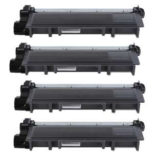Compatible for Dell 593-BBKD toner cartridge - high capacity black - 4-pack