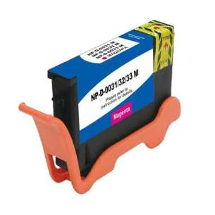 Compatible ink cartridge to replace Dell 6M6FG (Series 31, 32, 33, 34) - extra high capacity magenta