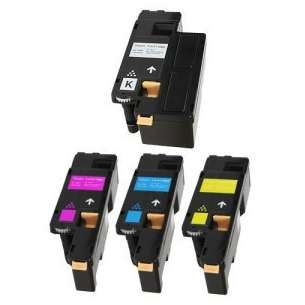 Compatible for Dell 332-0399 / 332-0400 / 332-0401 / 332-0402 toner cartridges - 4-pack