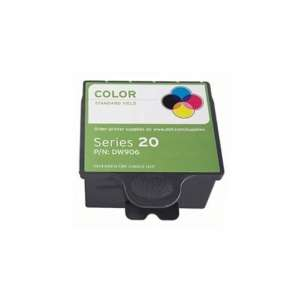 Compatible ink cartridge to replace Dell DW906 (Series 20) - color cartridge