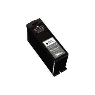 Original Dell GRMC3 (Series 21 ink) inkjet cartridge - black cartridge