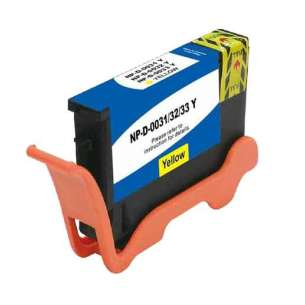 Compatible ink cartridge to replace Dell GRW63 (Series 31, 32, 33, 34) - extra high capacity yellow