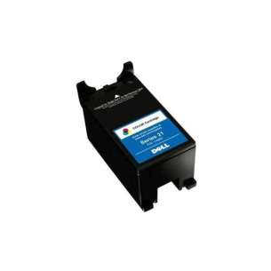 Original Dell XG8R3 (Series 21 ink) inkjet cartridge - color cartridge