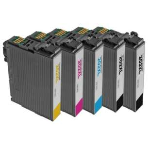 Remanufactured inkjet cartridges Multipack for Epson 202XL - 4 pack