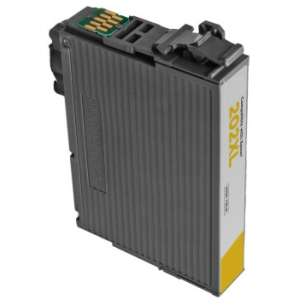 Remanufactured Epson T202XL420 (202XL) inkjet cartridge - high capacity yellow