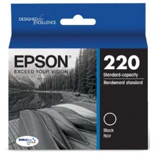 Original Epson T220120 (220 ink) inkjet cartridge - black cartridge