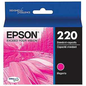 Original Epson T220320 (220 ink) inkjet cartridge - magenta